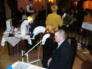Сеансы светотерапии во время презентации